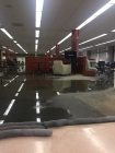 Water main break floods RLC, prompts library evacuation