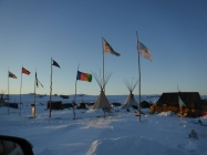 Former UMBC employee on the front line in Standing Rock