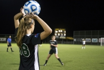 Women's soccer celebrates UMBC 50th with win