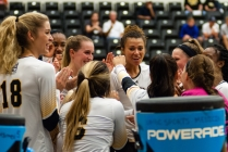 Retriever volleyball enter conference season with hearts pumping black and gold