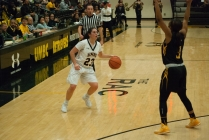 Women's basketball creates remarkable comeback to secure three seed